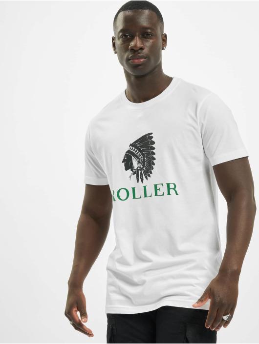 Mister Tee T-Shirt Tee Roller Indianer weiß