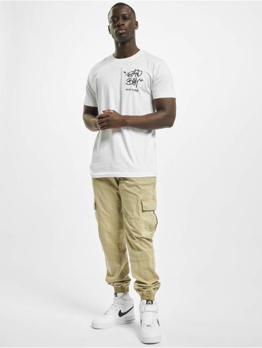 Mister Tee T-Shirt Bad Boy New York weiß