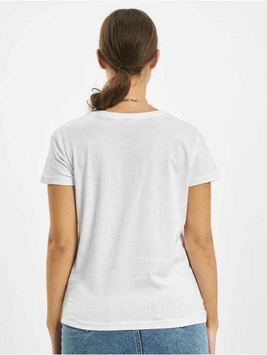 Mister Tee T-Shirt One Line Hand Box weiß
