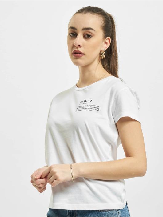 Mister Tee T-Shirt Self Love Box weiß