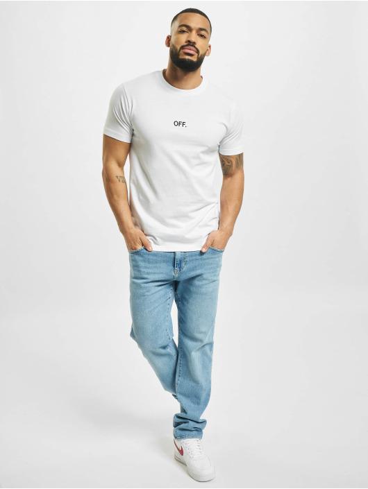 Mister Tee T-Shirt Off Emb weiß