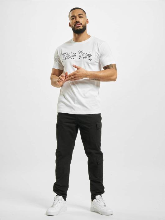 Mister Tee T-Shirt New York Wording weiß