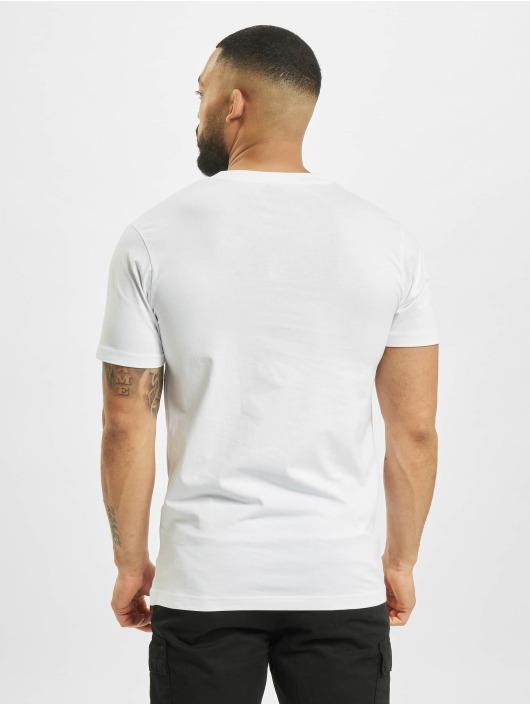 Mister Tee T-Shirt Rose Love weiß