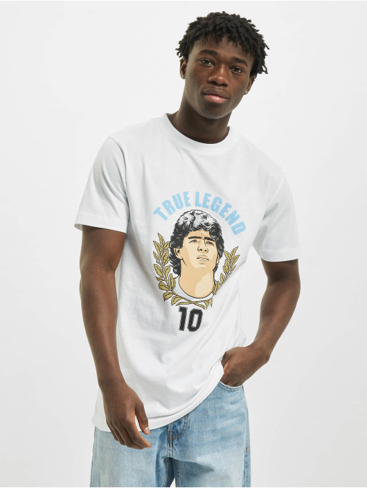 Mister Tee T-Shirt True Legends Number 10 weiß