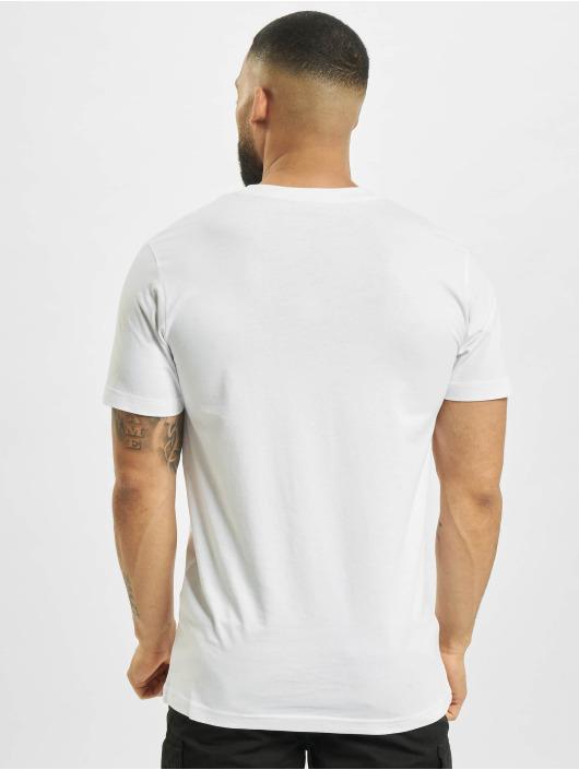 Mister Tee T-Shirt Ufo Drop weiß