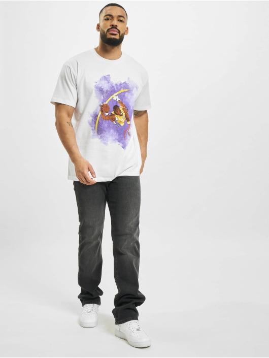 Mister Tee T-Shirt Basketball Clouds 2.0 weiß