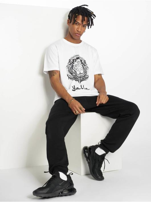 Mister Tee T-Shirt Yalla Lion white