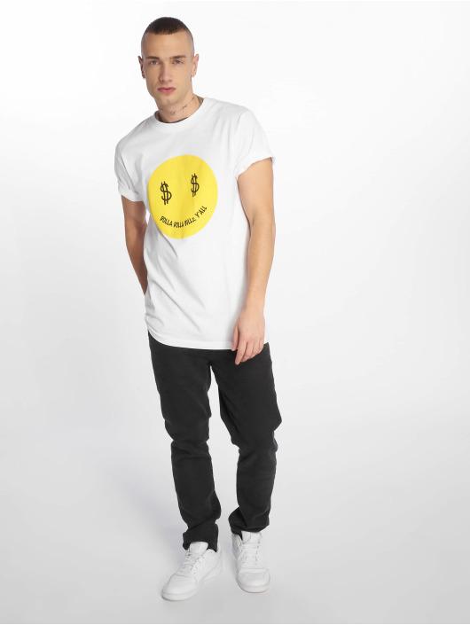 Mister Tee T-Shirt Dolla Smile white