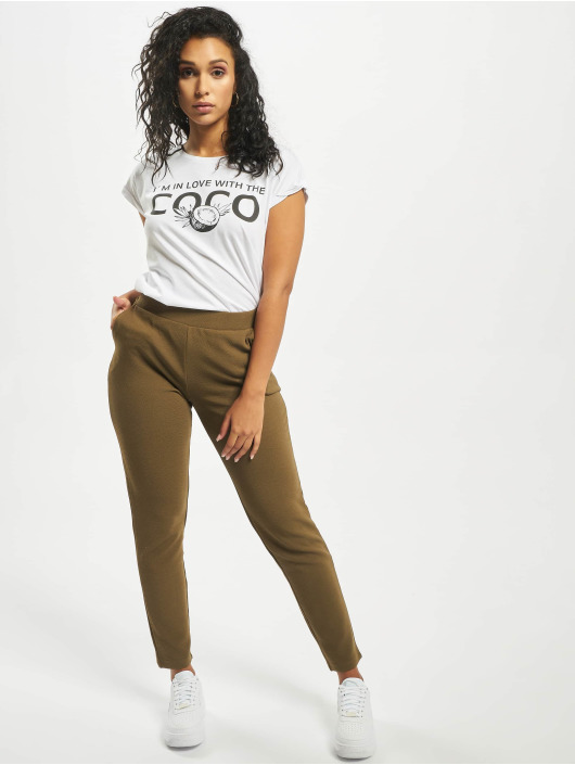 Mister Tee T-Shirt Coco white