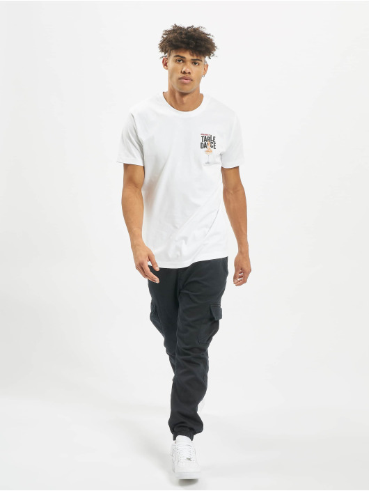 Mister Tee T-Shirt Tabledance white