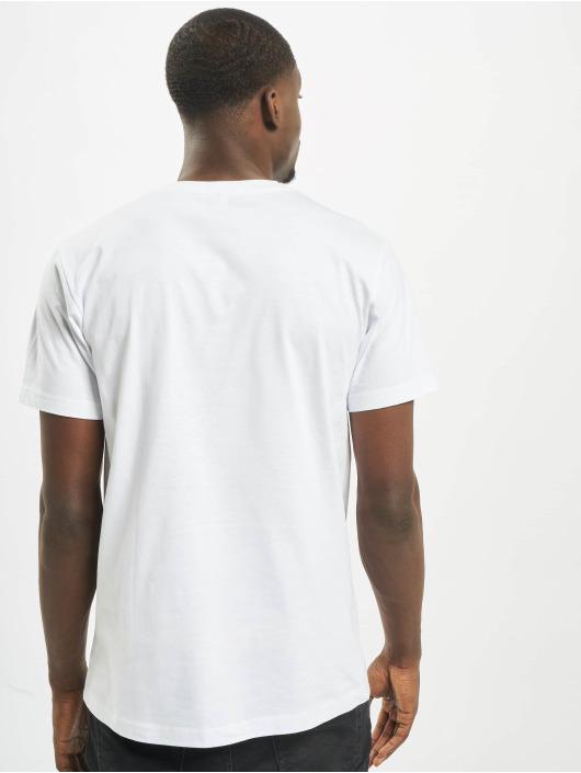 Mister Tee T-Shirt Thug Life Skull white