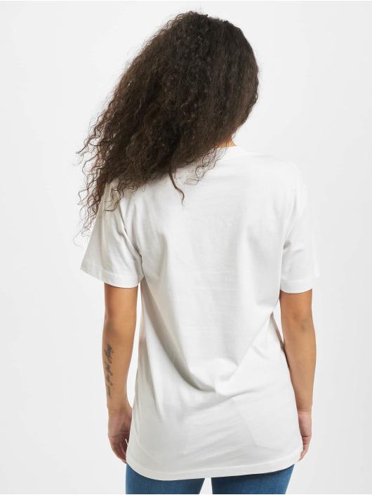 Mister Tee T-Shirt Ladies Less Monday white
