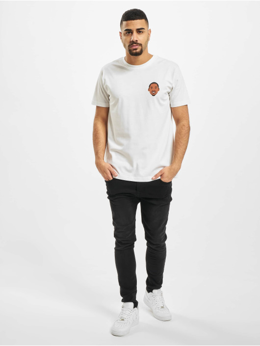Mister Tee T-Shirt Face 24 white