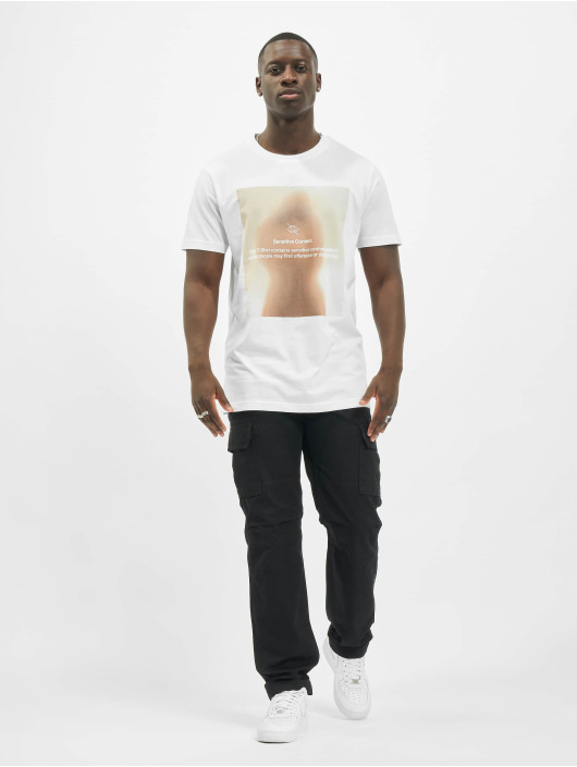 Mister Tee T-Shirt Sensitive Content white