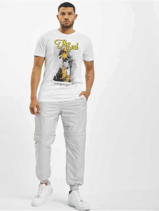 Mister Tee T-Shirt The End white