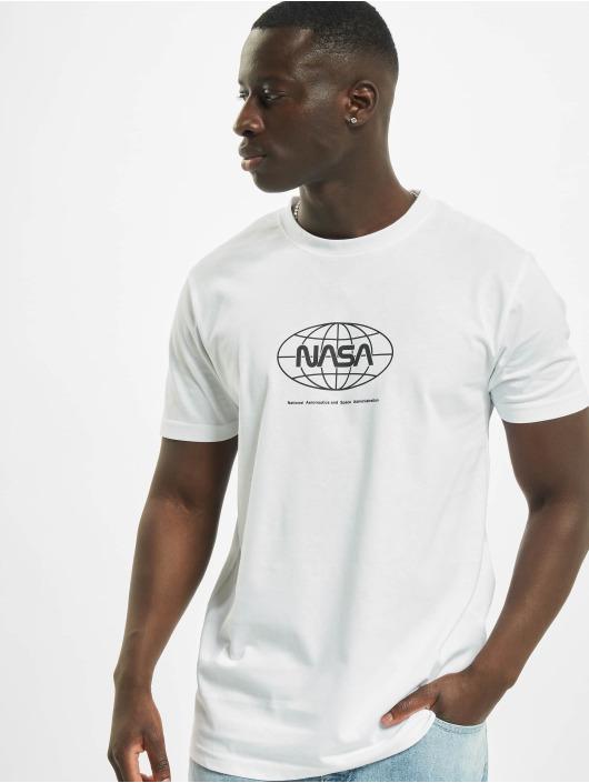 Mister Tee T-Shirt Nasa Globe white