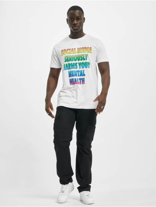 Mister Tee T-Shirt Social Media white