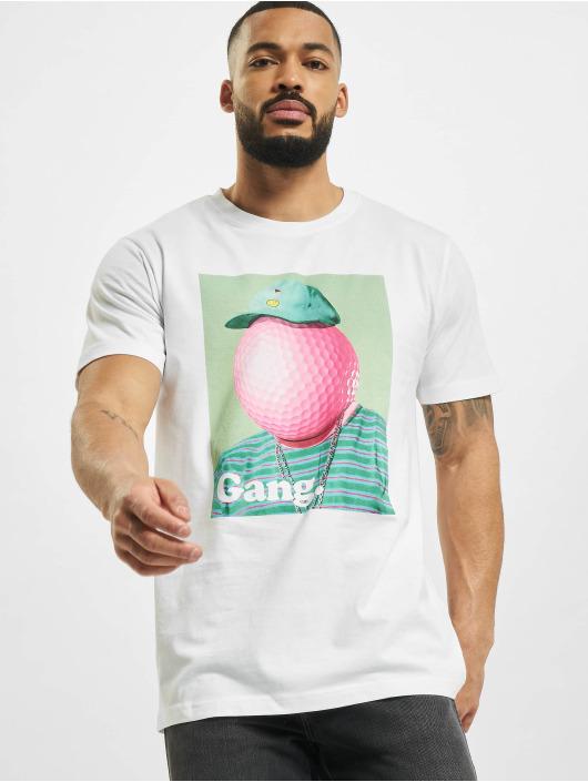 Mister Tee T-Shirt Golf Gang white