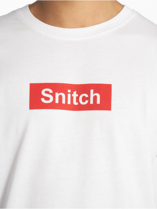 Mister Tee t-shirt Snitch wit
