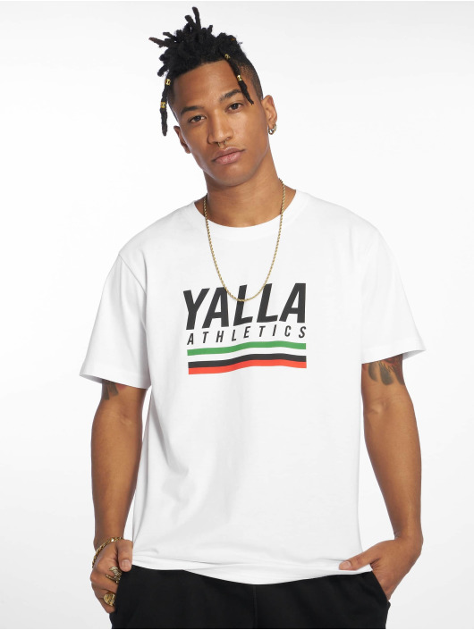 Mister Tee t-shirt Yalla Athletic wit