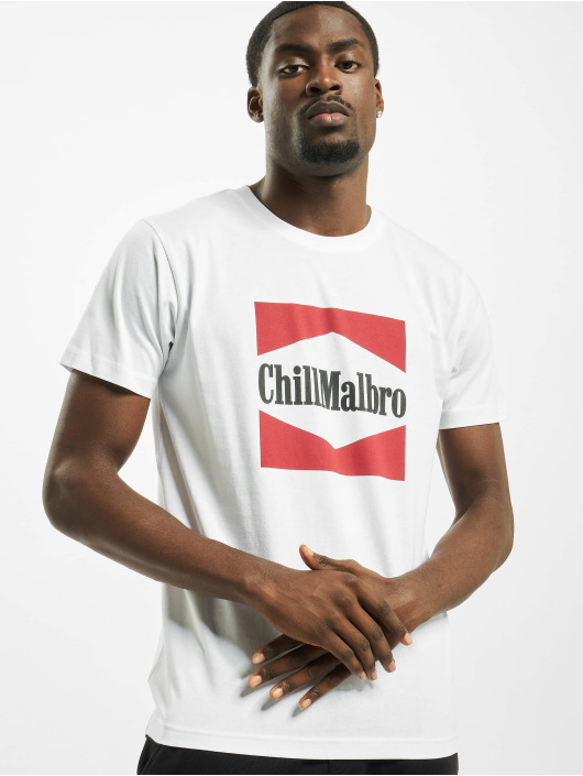 Mister Tee t-shirt Chillmalbro wit