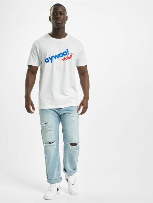 Mister Tee t-shirt Aywaa wit