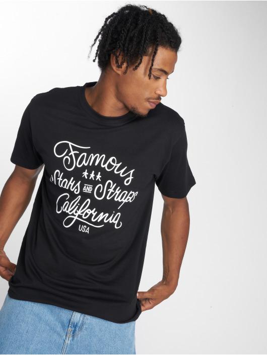 Mister Tee t-shirt Hometown zwart