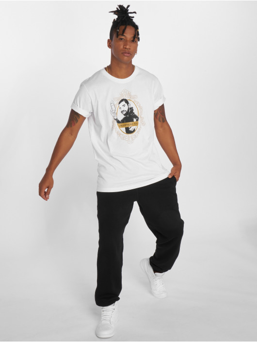 Mister Tee t-shirt Champagne Papi zwart