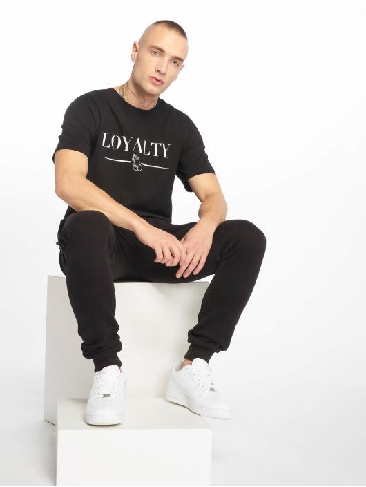 Mister Tee t-shirt Loyalty zwart