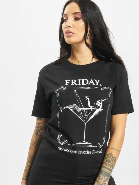 Mister Tee t-shirt F-Word zwart
