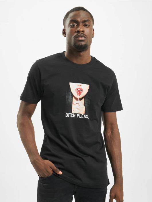 Mister Tee t-shirt Bitch Please zwart