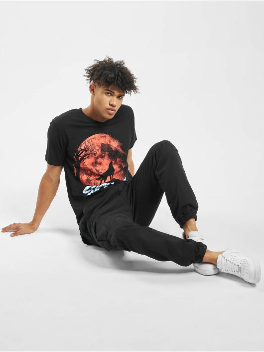 Mister Tee t-shirt Skrrt Howling zwart