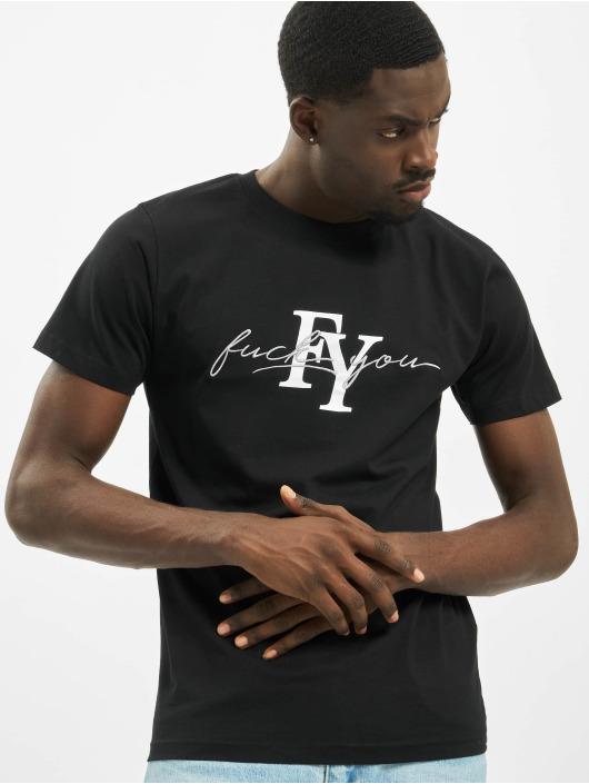 Mister Tee t-shirt Fy zwart