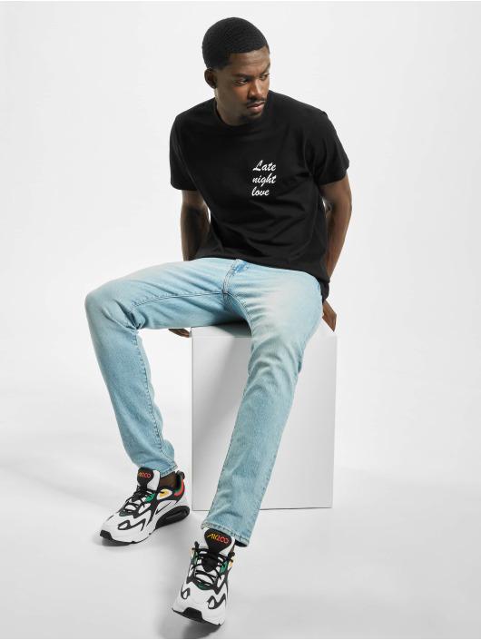 Mister Tee t-shirt Late Night Love zwart
