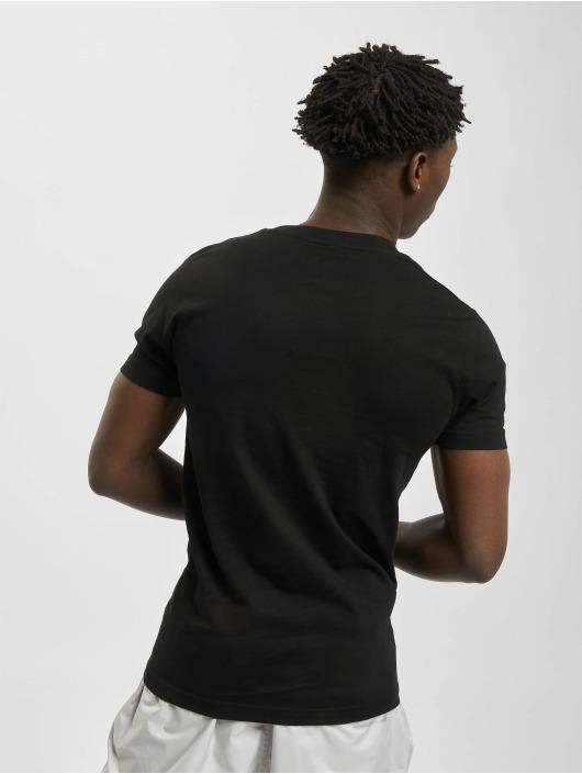 Mister Tee t-shirt Waving Cat zwart