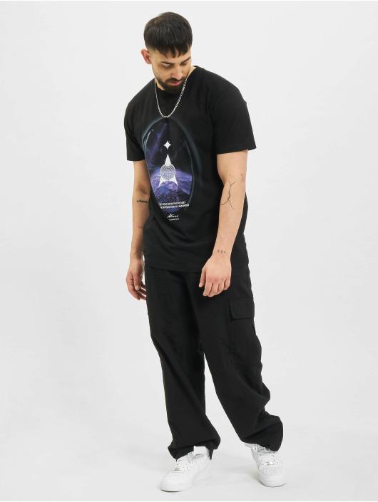 Mister Tee t-shirt Alien Planet zwart