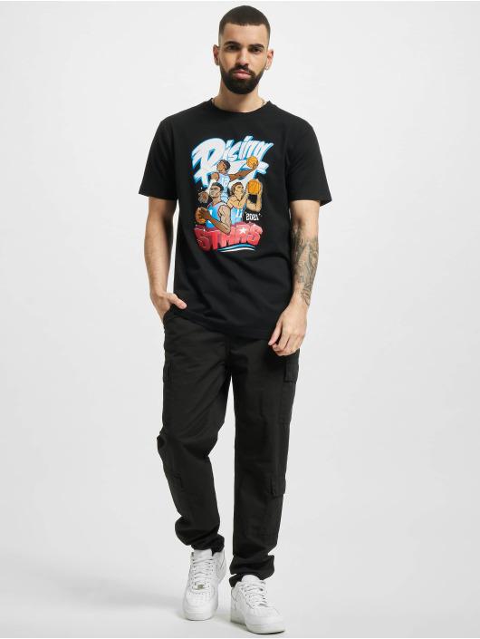 Mister Tee t-shirt Rising Stars zwart