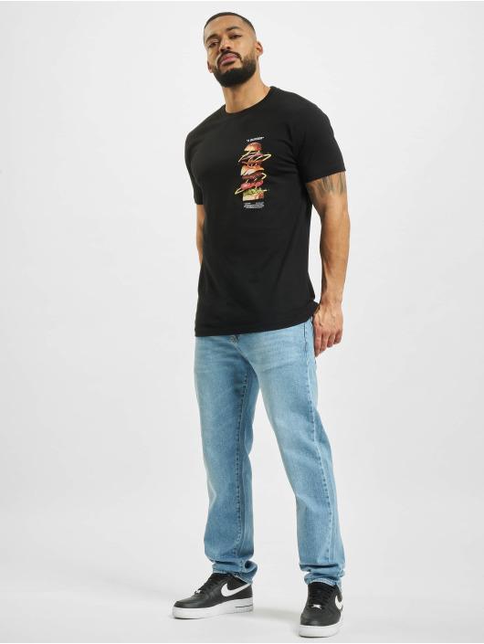 Mister Tee t-shirt A Burger zwart