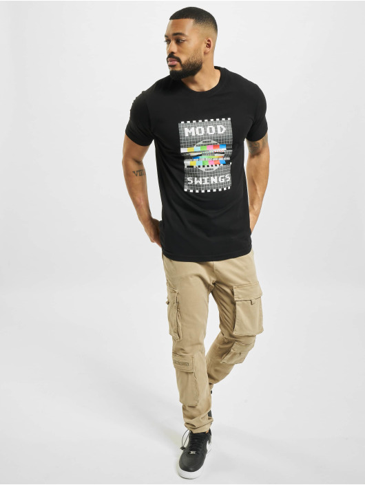 Mister Tee t-shirt Mood Swings zwart