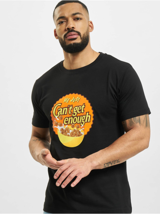 Mister Tee t-shirt Can´t Get Enough zwart