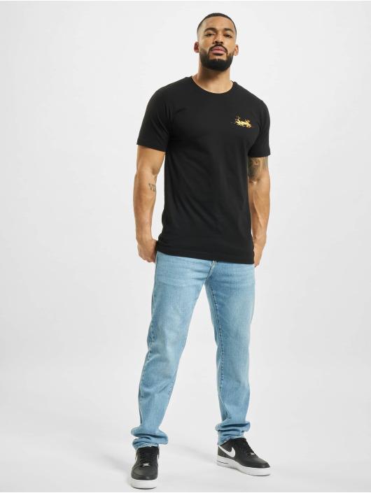 Mister Tee t-shirt Yummy zwart