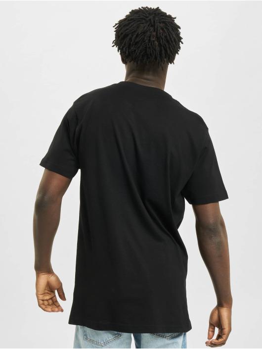 Mister Tee t-shirt Pizza Power zwart