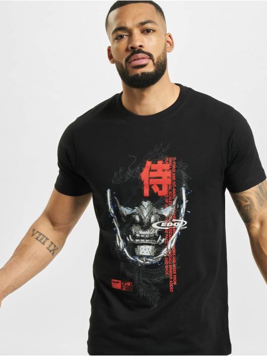 Mister Tee t-shirt Samurai zwart