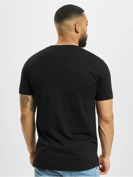 Mister Tee t-shirt Pizza Basketball Court zwart