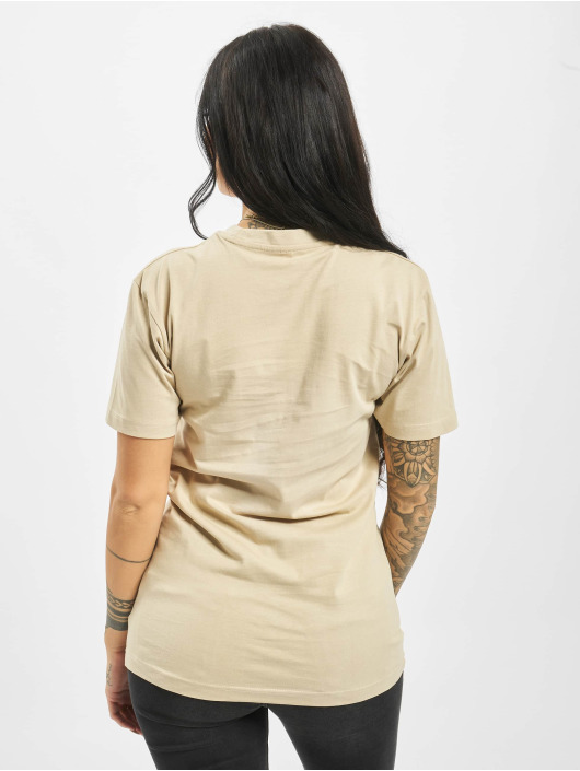 Mister Tee T-shirts Happy Weekend beige