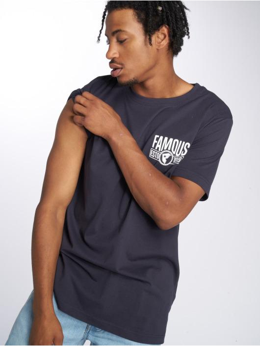 Mister Tee T-shirts Established blå