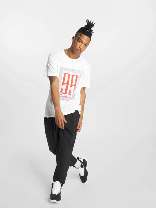 Mister Tee T-shirts 99 Problems hvid