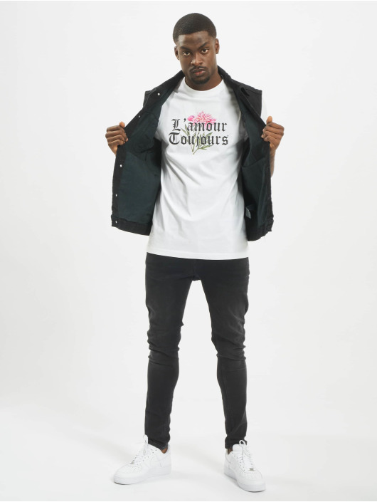 Mister Tee T-shirts L´amour Toujours hvid