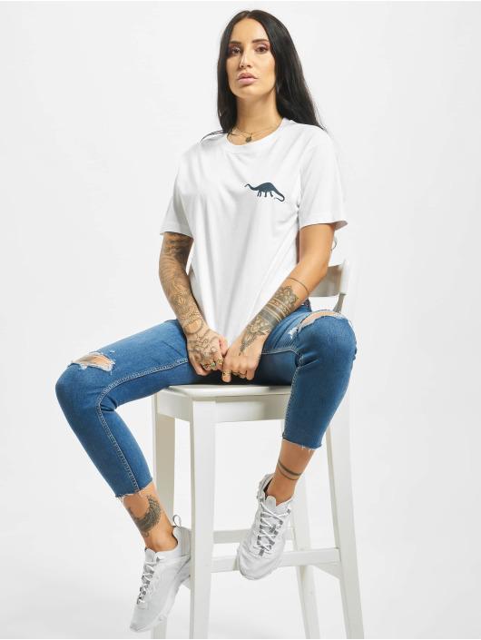 Mister Tee T-shirts Jurassic hvid