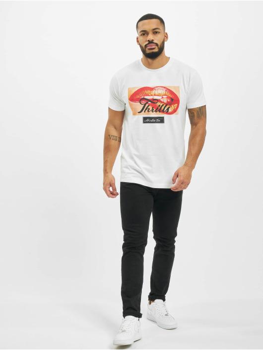 Mister Tee T-shirts Thrills hvid